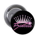 Princesa rosada Crown Pin