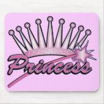 Princesa rosada Crown Tapetes De Ratones
