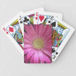 Princesa rosada de la margarita cartas de juego