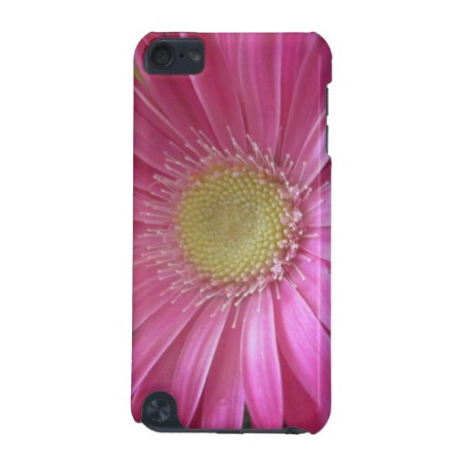 Princesa rosada de la margarita funda para iPod touch 5G