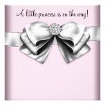 Princesa rosada elegante fiesta de bienvenida al b