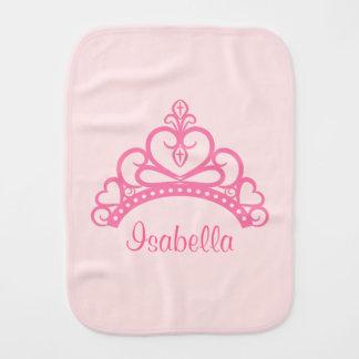 Princesa rosada elegante Tiara, corona para las ni Paños Para Bebé