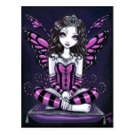 "Princesa rosada Fairy Art Postcard de ""Khristyn"" Tarjetas Postales"