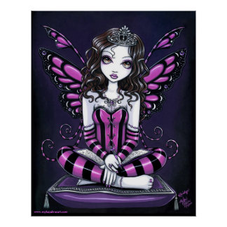 "Princesa rosada Fairy Art Poster de ""Khristyn"""