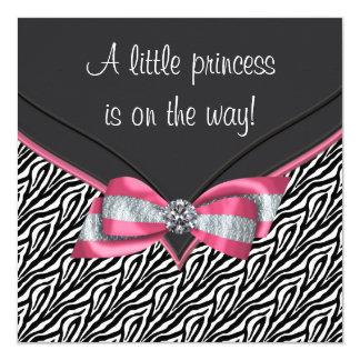 Princesa rosada fiesta de bienvenida al bebé de la