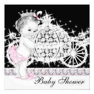 Princesa rosada fiesta de bienvenida al bebé del c