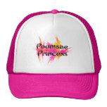Princesa rosada Hat de Poomsae Gorra
