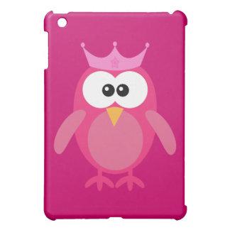 Princesa rosada linda del búho