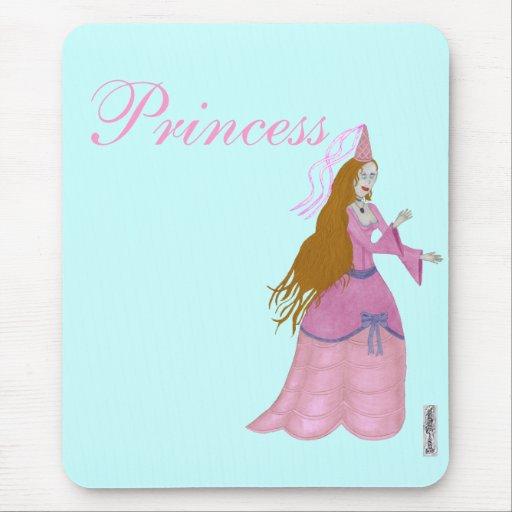 Princesa rosada Mousemat del cuento de hadas Tapete De Raton