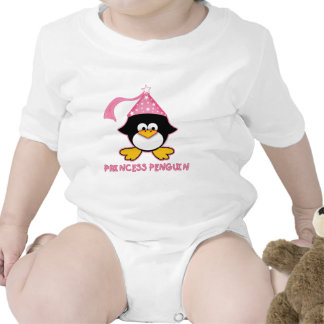Princesa rosada Penguin Traje De Bebé