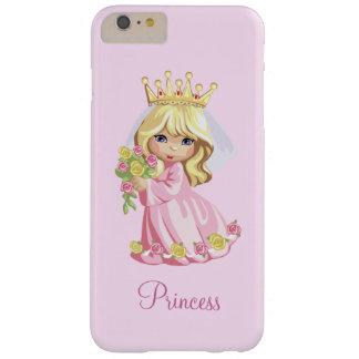 Princesa rosada Personalized Funda Barely There iPhone 6 Plus