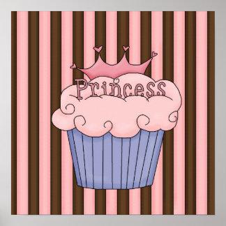 Princesa rosada póster