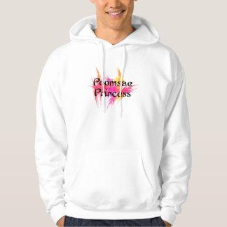 Princesa rosada suéter con capucha de Poomsae