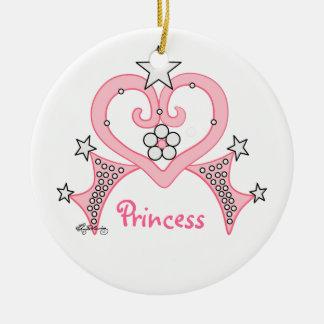Princesa rosada Tiara Ornamentos De Reyes
