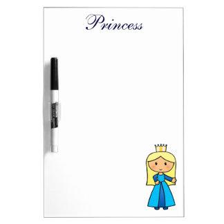 Princesa rubia linda del clip art del dibujo pizarras