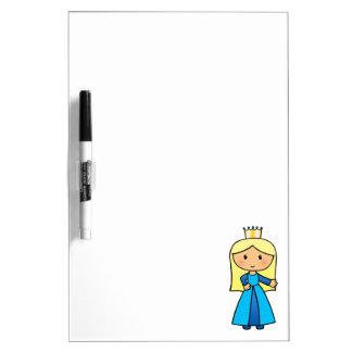 Princesa rubia linda del clip art del dibujo tableros blancos