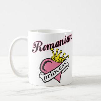 Princesa rumana taza básica blanca