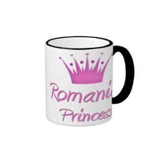 Princesa rumana taza de dos colores
