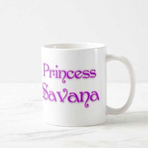 Princesa Savana Taza Básica Blanca