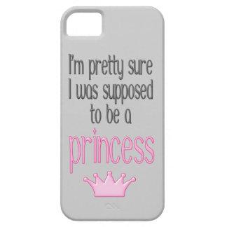 Princesa segura iPhone 5 Case-Mate carcasas