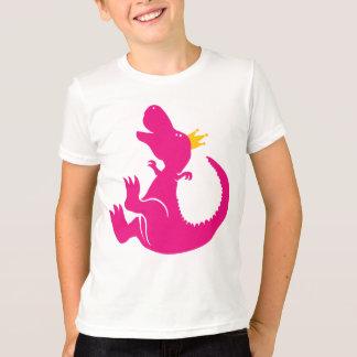 Princesa Shirt del dinosaurio Playera