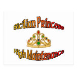 Princesa siciliana alto mantenimiento postal