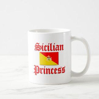 Princesa siciliana taza clásica