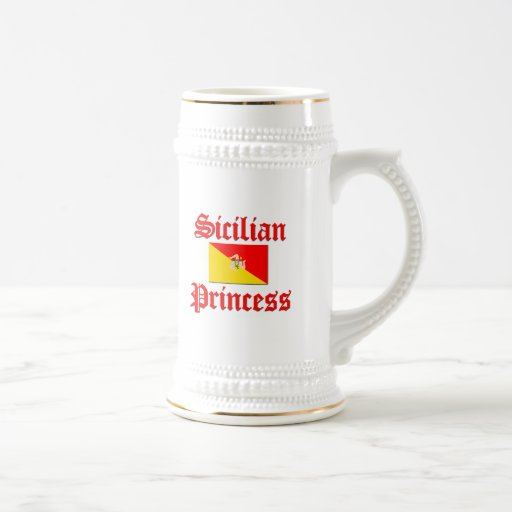 Princesa siciliana tazas de café