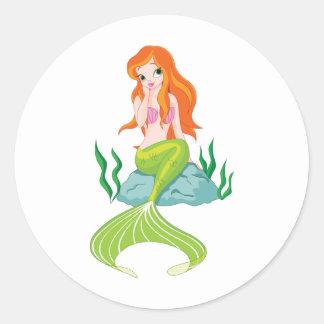 princesa-sirena pegatinas