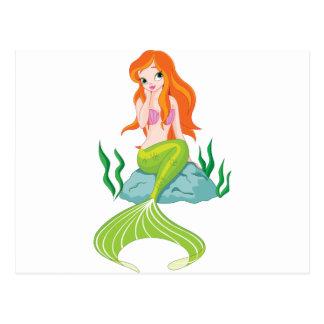 princesa-sirena postal