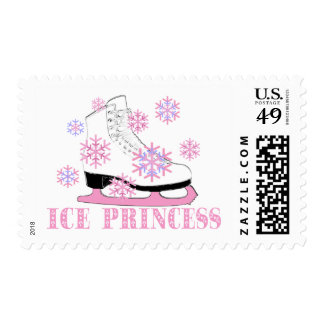 Princesa Skate del hielo Sello Postal