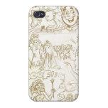 Princesa Sketch Iphone Case iPhone 4/4S Funda