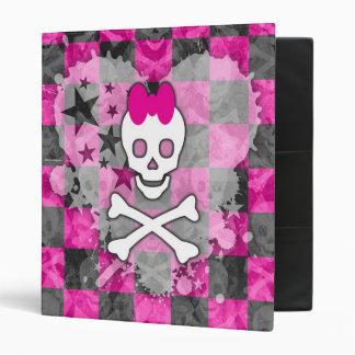 "Princesa Skull Binder Carpeta 1"""