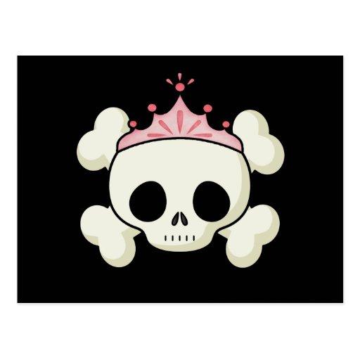 Princesa Skull Postal