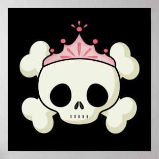 Princesa Skull Posters