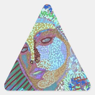 Princesa SONA ROOPA Pegatina Triangular