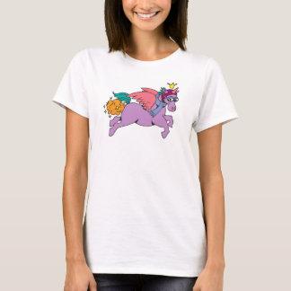Princesa SparkleFarts T-shirt con el Web site Playera