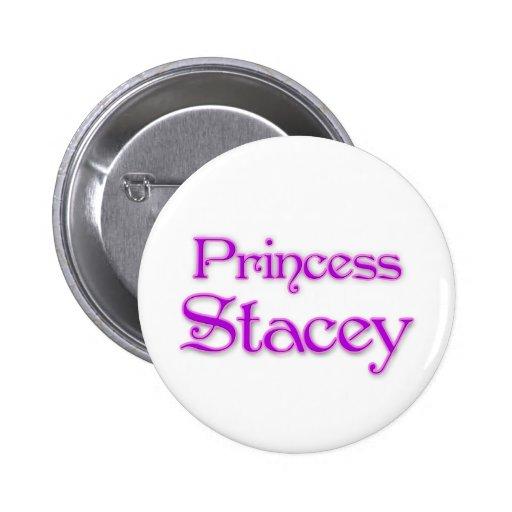 Princesa Stacey Pin Redondo 5 Cm