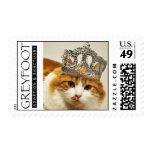 Princesa Stamp del naranja del rescate del gato de