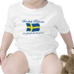 Princesa sueca 1 traje de bebé
