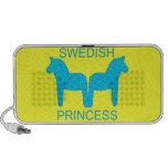 Princesa sueca altavoces de viaje