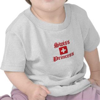 Princesa suiza camiseta