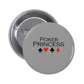 Princesa T-shirt del póker Pins