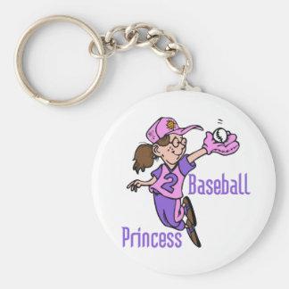 Princesa T-shirts y regalos del béisbol Llavero