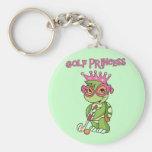 Princesa T-shirts y regalos del golf de la tortuga Llaveros Personalizados