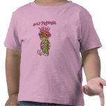 Princesa T-shirts y regalos del golf de la tortuga Camisetas