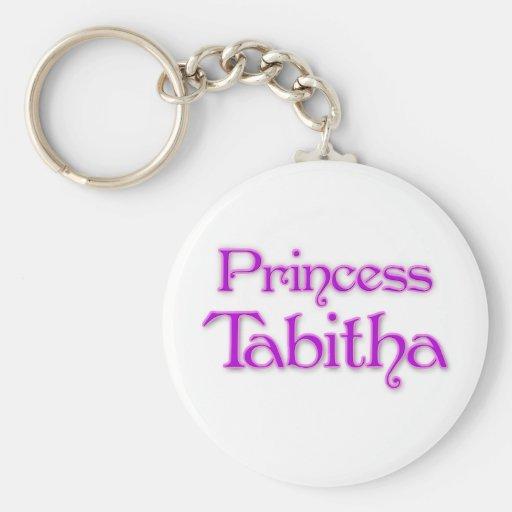 Princesa Tabitha Llavero Redondo Tipo Pin