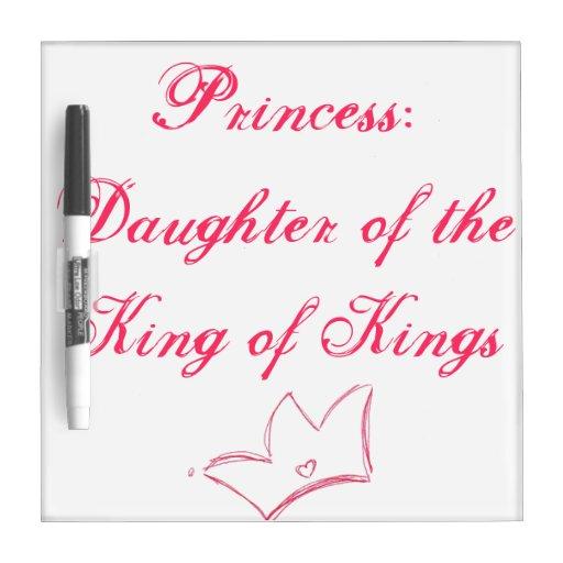 Princesa Tableros Blancos