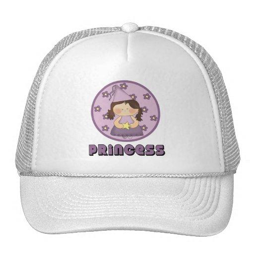Princesa tan muy dulce Purple Gorros Bordados
