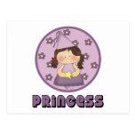 Princesa tan muy dulce Purple Postal
